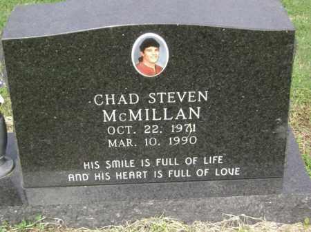 MCMILLAN, CHAD STEVEN - Jackson County, Arkansas | CHAD STEVEN MCMILLAN - Arkansas Gravestone Photos