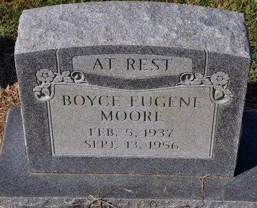 MOORE, BOYCE EUGENE - Jackson County, Arkansas | BOYCE EUGENE MOORE - Arkansas Gravestone Photos
