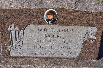 MOORE, BOYCE JAMES - Jackson County, Arkansas | BOYCE JAMES MOORE - Arkansas Gravestone Photos
