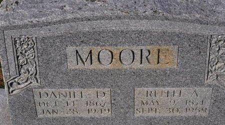 MOORE, DANIEL D. - Jackson County, Arkansas | DANIEL D. MOORE - Arkansas Gravestone Photos