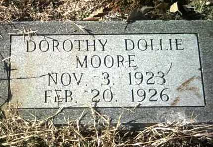 MOORE, DOROTHY DOLLIE - Jackson County, Arkansas | DOROTHY DOLLIE MOORE - Arkansas Gravestone Photos