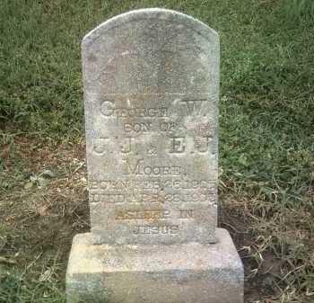 MOORE, GEORGE W - Jackson County, Arkansas | GEORGE W MOORE - Arkansas Gravestone Photos