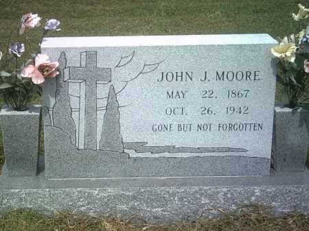 MOORE, JOHN J - Jackson County, Arkansas | JOHN J MOORE - Arkansas Gravestone Photos