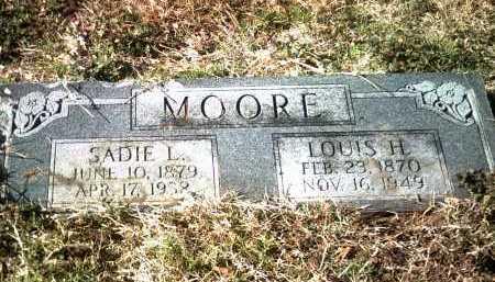 MOORE, LOUIS H - Jackson County, Arkansas | LOUIS H MOORE - Arkansas Gravestone Photos