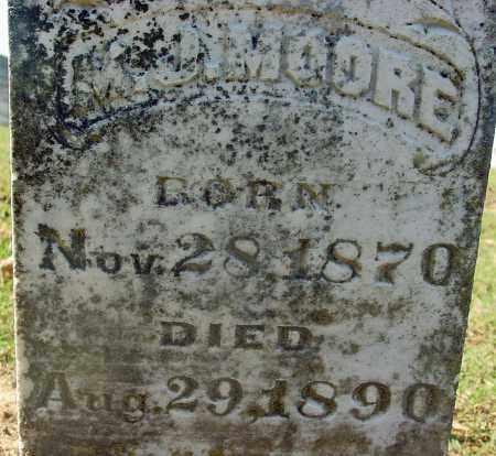 MOORE, M J - Jackson County, Arkansas | M J MOORE - Arkansas Gravestone Photos
