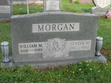 MORGAN, WILLIAM M - Jackson County, Arkansas | WILLIAM M MORGAN - Arkansas Gravestone Photos