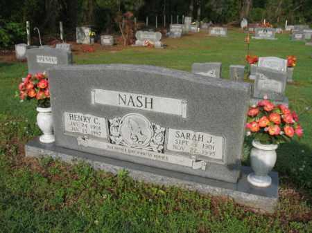 NASH, HENRY C - Jackson County, Arkansas   HENRY C NASH - Arkansas Gravestone Photos