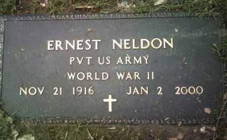 NELDON (VETERAN WWII), ERNEST - Jackson County, Arkansas | ERNEST NELDON (VETERAN WWII) - Arkansas Gravestone Photos