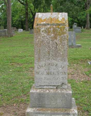 KING NELSON, AMANDA M - Jackson County, Arkansas   AMANDA M KING NELSON - Arkansas Gravestone Photos