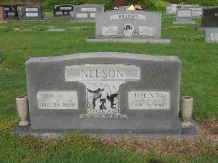 NELSON, LUECENTHA - Jackson County, Arkansas | LUECENTHA NELSON - Arkansas Gravestone Photos