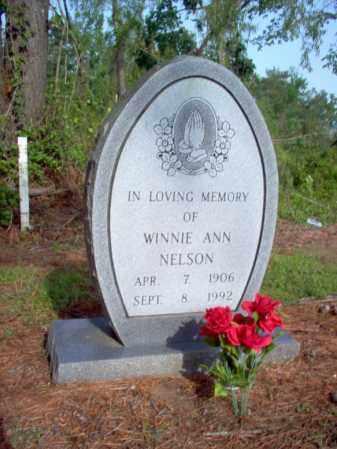 NELSON, WINNIE ANN - Jackson County, Arkansas | WINNIE ANN NELSON - Arkansas Gravestone Photos