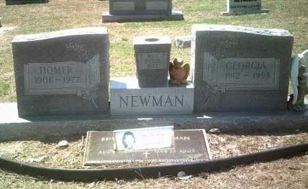 NEWMAN, GEORGIA - Jackson County, Arkansas | GEORGIA NEWMAN - Arkansas Gravestone Photos