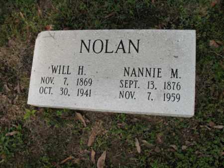NOLAN, WILL H - Jackson County, Arkansas | WILL H NOLAN - Arkansas Gravestone Photos
