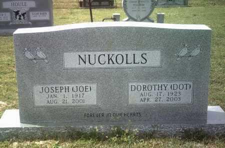 """NUCKOLLS, JOSEPH """"JOE"""" - Jackson County, Arkansas   JOSEPH """"JOE"""" NUCKOLLS - Arkansas Gravestone Photos"""