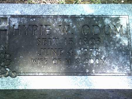 ODOM, HYPIE W - Jackson County, Arkansas | HYPIE W ODOM - Arkansas Gravestone Photos