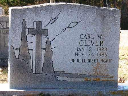 OLIVER, CARL W - Jackson County, Arkansas   CARL W OLIVER - Arkansas Gravestone Photos