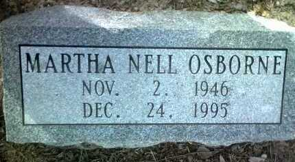 OSBORNE, MARTHA NELL - Jackson County, Arkansas   MARTHA NELL OSBORNE - Arkansas Gravestone Photos