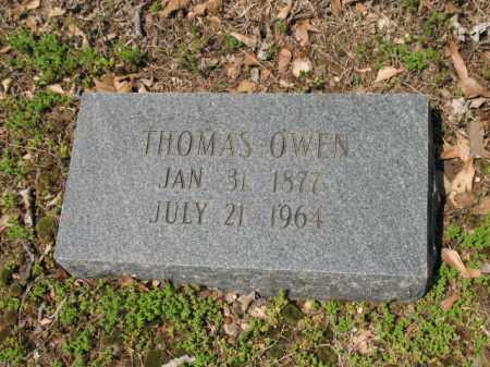 OWEN, THOMAS - Jackson County, Arkansas | THOMAS OWEN - Arkansas Gravestone Photos