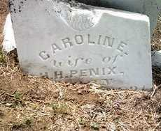 PENIX, CAROLINE - Jackson County, Arkansas | CAROLINE PENIX - Arkansas Gravestone Photos