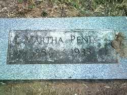 PENIX, MARTHA - Jackson County, Arkansas   MARTHA PENIX - Arkansas Gravestone Photos
