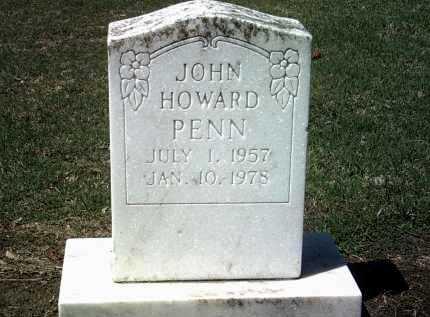 PENN, JOHN HOWARD - Jackson County, Arkansas | JOHN HOWARD PENN - Arkansas Gravestone Photos