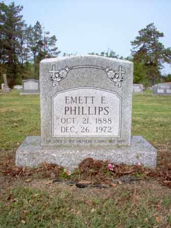 PHILLIPS, EMETT E - Jackson County, Arkansas   EMETT E PHILLIPS - Arkansas Gravestone Photos