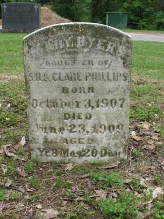 PHILLIPS, MARY BYERS - Jackson County, Arkansas | MARY BYERS PHILLIPS - Arkansas Gravestone Photos