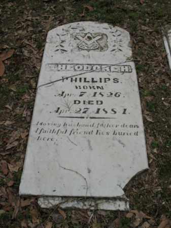 PHILLIPS, THEODORE H - Jackson County, Arkansas   THEODORE H PHILLIPS - Arkansas Gravestone Photos