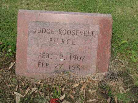PIERCE, JUDGE ROOSEVELT - Jackson County, Arkansas | JUDGE ROOSEVELT PIERCE - Arkansas Gravestone Photos