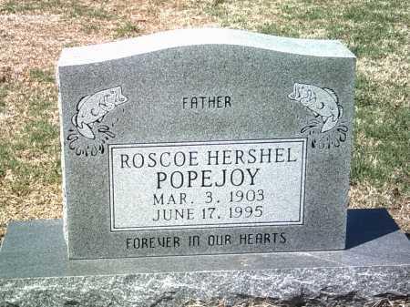 POPEJOY, ROSCOE HERSHEL - Jackson County, Arkansas | ROSCOE HERSHEL POPEJOY - Arkansas Gravestone Photos