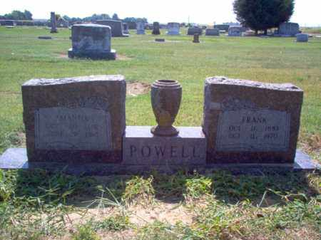 POWELL, AMANDA - Jackson County, Arkansas | AMANDA POWELL - Arkansas Gravestone Photos