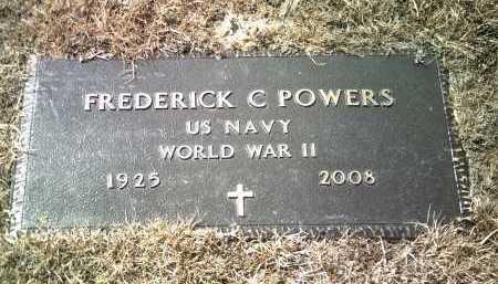 POWERS (VETERAN WWII), FREDERICK CHARLES - Jackson County, Arkansas | FREDERICK CHARLES POWERS (VETERAN WWII) - Arkansas Gravestone Photos