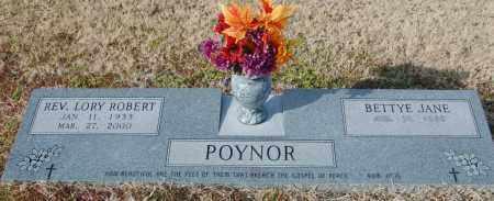 POYNOR, REV, LORY ROBERT - Jackson County, Arkansas | LORY ROBERT POYNOR, REV - Arkansas Gravestone Photos