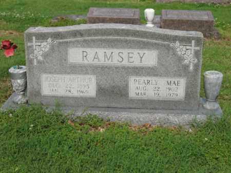 RAMSEY, JOSEPH ARTHUR - Jackson County, Arkansas | JOSEPH ARTHUR RAMSEY - Arkansas Gravestone Photos