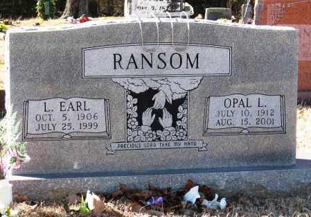 RANSOM, OPAL L - Jackson County, Arkansas   OPAL L RANSOM - Arkansas Gravestone Photos