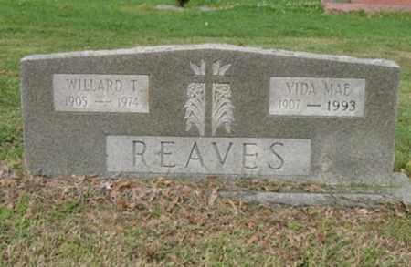 REAVES, WILLARD T - Jackson County, Arkansas | WILLARD T REAVES - Arkansas Gravestone Photos