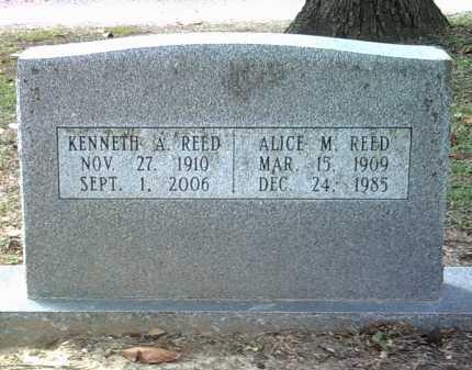 REED, ALICE M - Jackson County, Arkansas | ALICE M REED - Arkansas Gravestone Photos