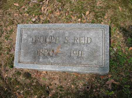 REID, TROUPE S - Jackson County, Arkansas   TROUPE S REID - Arkansas Gravestone Photos