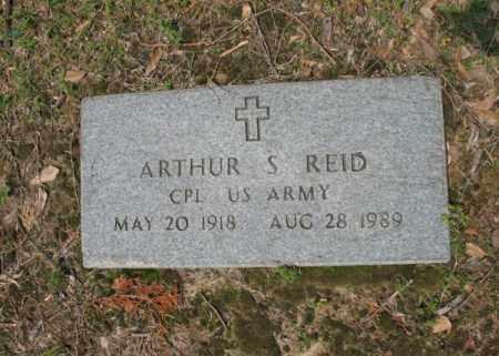 REID (VETERAN), ARTHUR SNELL - Jackson County, Arkansas   ARTHUR SNELL REID (VETERAN) - Arkansas Gravestone Photos