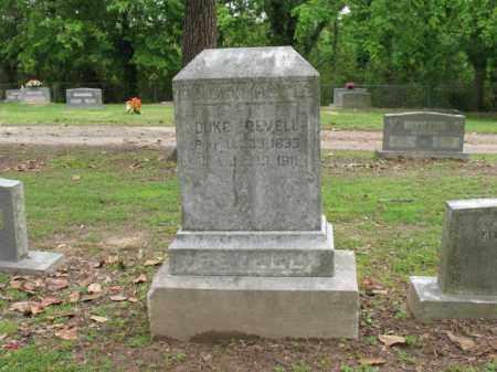 REVELL, DUKE - Jackson County, Arkansas | DUKE REVELL - Arkansas Gravestone Photos