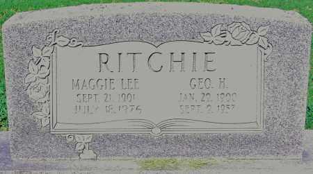 RITCHIE, GEO H - Jackson County, Arkansas | GEO H RITCHIE - Arkansas Gravestone Photos