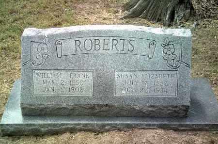 ROBERTS, SUSAN ELIZABETH - Jackson County, Arkansas | SUSAN ELIZABETH ROBERTS - Arkansas Gravestone Photos
