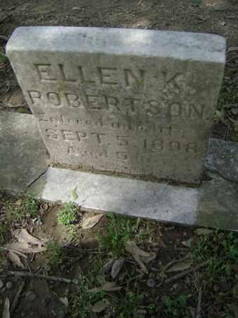 ROBERTSON, ELLEN K - Jackson County, Arkansas | ELLEN K ROBERTSON - Arkansas Gravestone Photos
