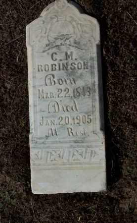 ROBINSON, C M - Jackson County, Arkansas | C M ROBINSON - Arkansas Gravestone Photos