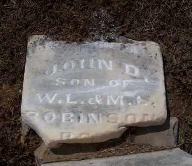 ROBINSON, JOHN D - Jackson County, Arkansas | JOHN D ROBINSON - Arkansas Gravestone Photos