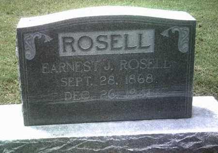 ROSELL, EARNEST J - Jackson County, Arkansas | EARNEST J ROSELL - Arkansas Gravestone Photos