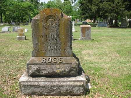 ROSS, W D - Jackson County, Arkansas | W D ROSS - Arkansas Gravestone Photos