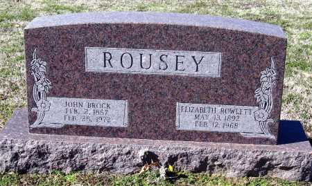 ROUSEY, JOHN BROCK - Jackson County, Arkansas | JOHN BROCK ROUSEY - Arkansas Gravestone Photos