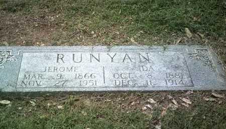 RUNYAN, IDA - Jackson County, Arkansas | IDA RUNYAN - Arkansas Gravestone Photos