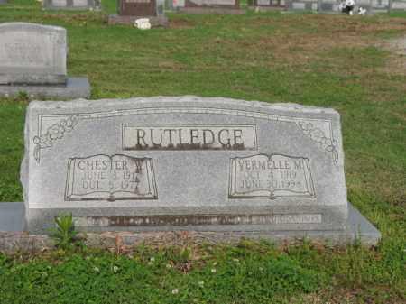 RUTLEDGE, CHESTER W - Jackson County, Arkansas | CHESTER W RUTLEDGE - Arkansas Gravestone Photos